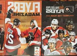 2013-14 Set Of 5 NHL PHILADELPHIA FLYERS MAGAZINES Meet The