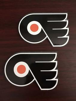 2x Philadelphia Flyers Hockey Car Bumper Laptop Vinyl Sticke