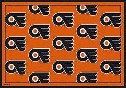 10x13 Milliken Philadelphia Flyers NHL Repeat Area Rug - App