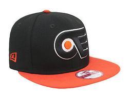 NEW ERA 9Fifty Philadelphia Flyers Black Orange Adjustable S