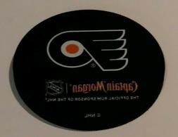 Captain Morgan NHL Puck Coaster Philadelphia Flyers