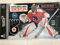 Carter Hart Philadelphia Flyers Logo Fathead Teammate Sticke