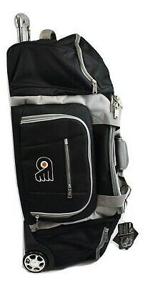2 NHL Philadelphia Flyers G-III 30'' Wheeled Duffle Bag Lugg