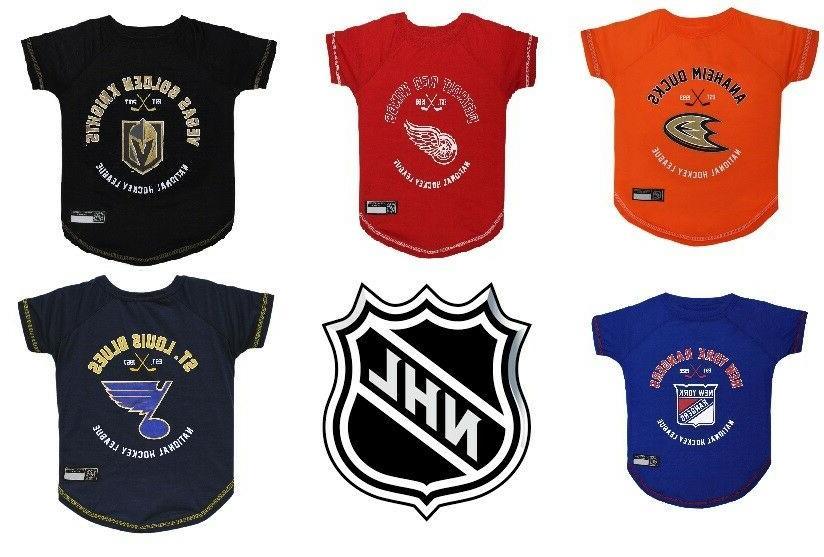 nhl hockey dog cat t shirt nhl