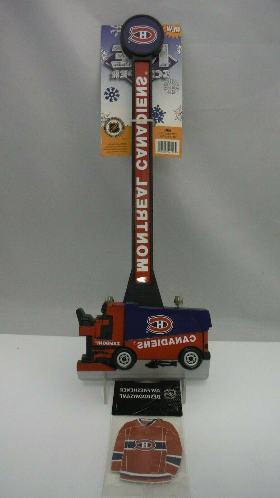 NHL Licensed Canadians Zamboni Scraper &