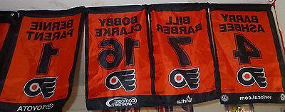 philadelphia flyers 2010 2011 mini banner set