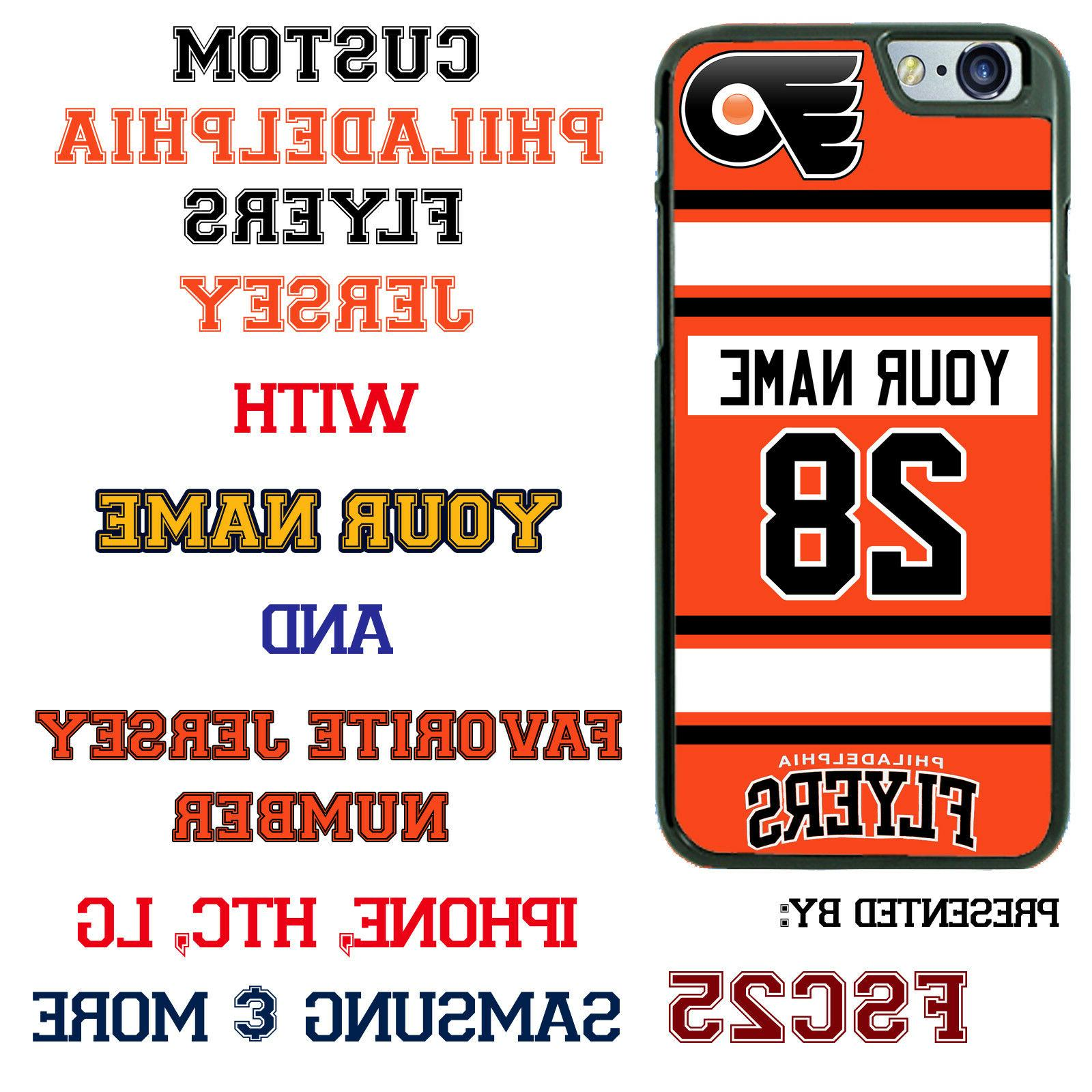 philadelphia flyers hockey jersey phone case cover