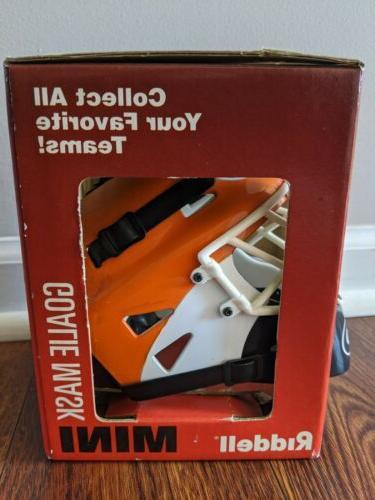 Philadelphia Riddell Goalie Helmet NHL Miniature Mask