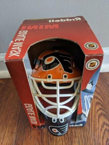 philadelphia flyers mini goalie helmet nhl hockey
