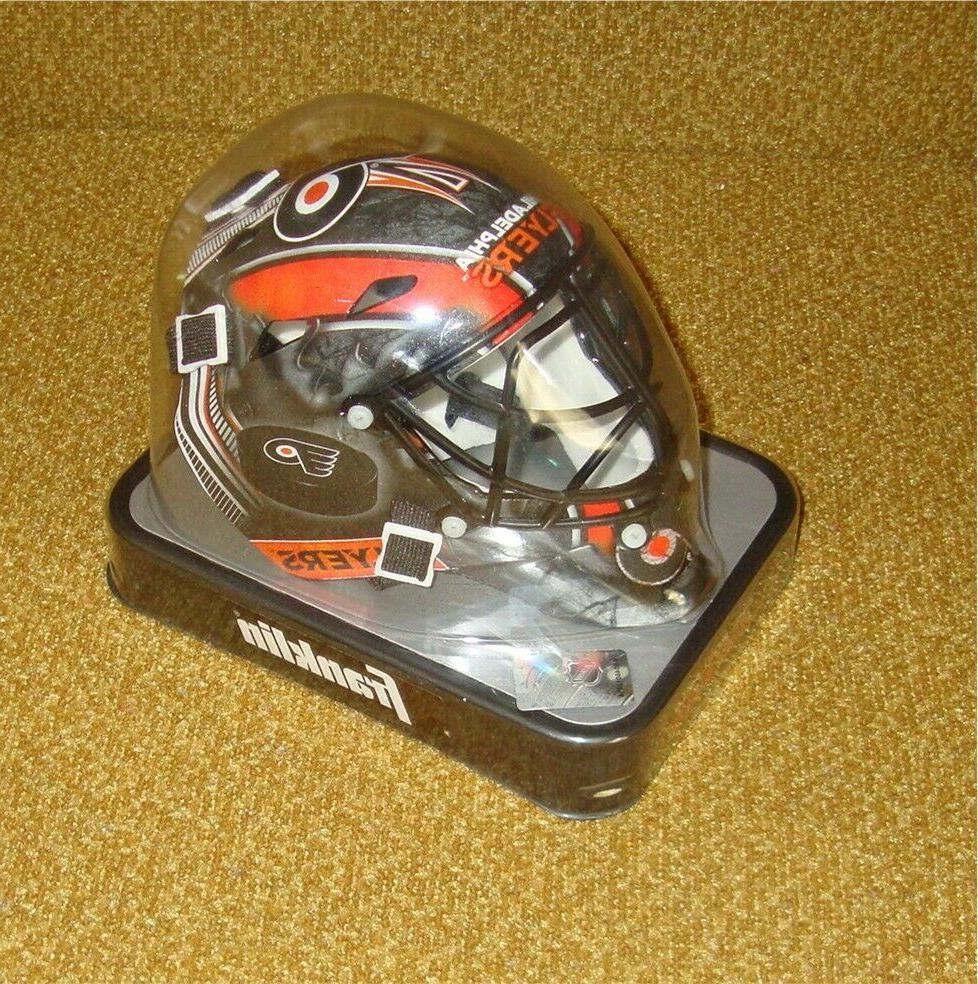 philadelphia flyers mini goalie hockey mask