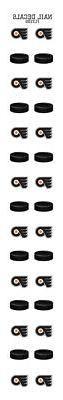 Philadelphia Flyers Nail Sticker Decals