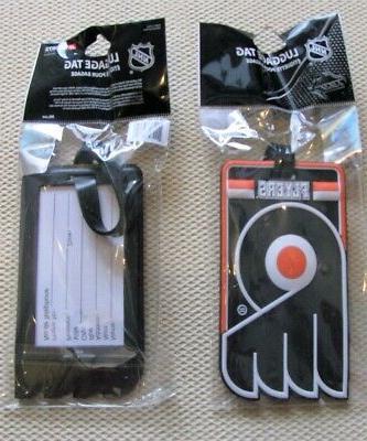 philadelphia flyers nhl hockey 3d rubberized luggage