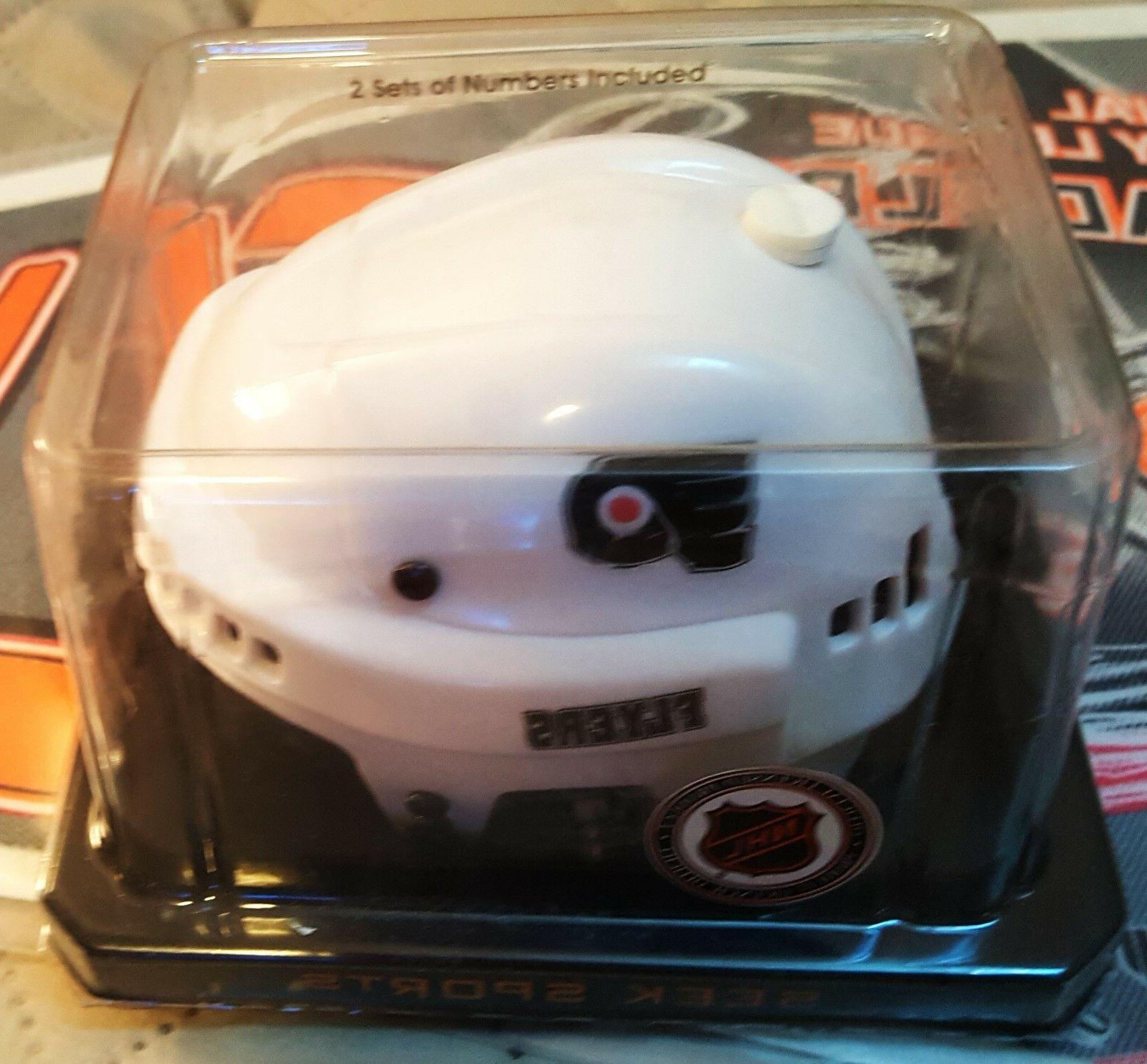 philadelphia flyers nhl licensed mini helmet great