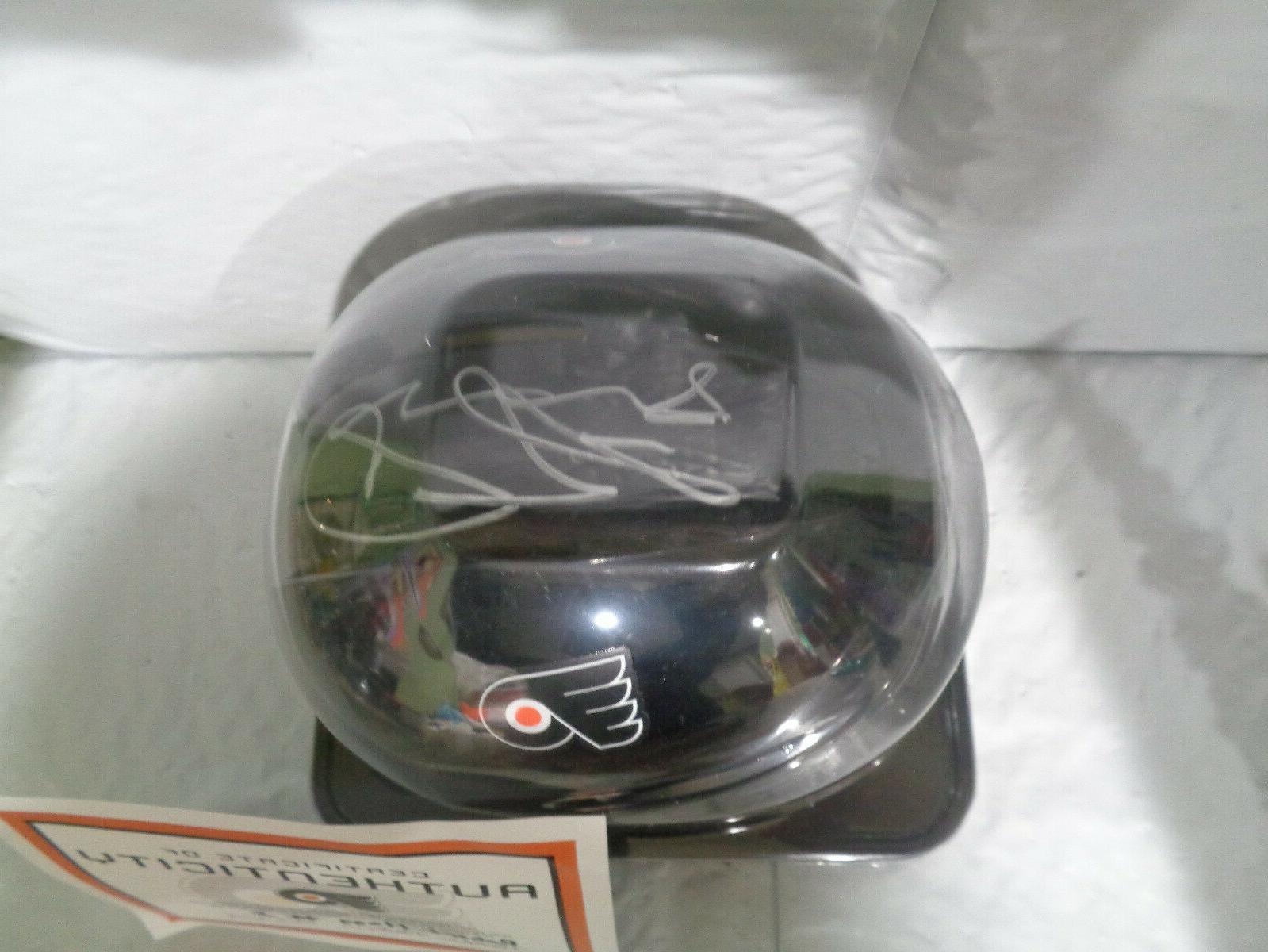 Philadelphia Flyers Robert Hagg 8 - Helmet