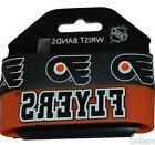 Official NHL Philadelphia Flyers Silicone Rubber Wrist Bands
