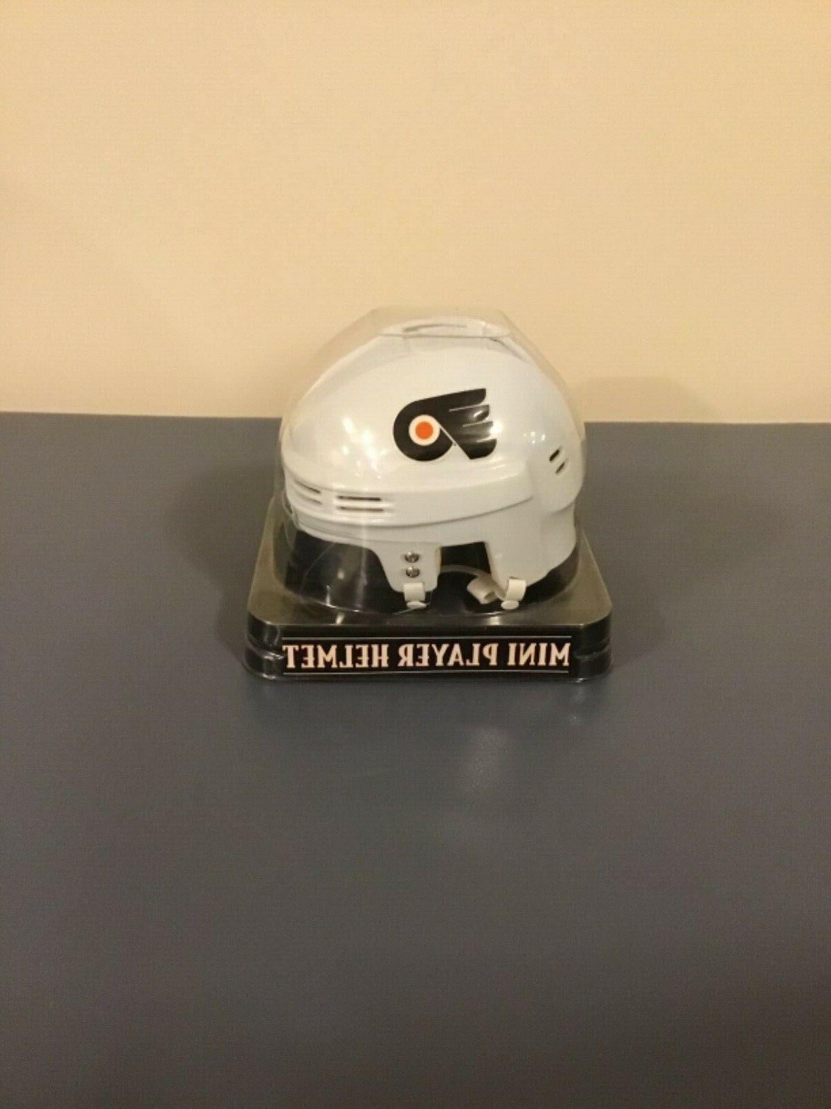philadelphia flyers team nhl mini player helmet