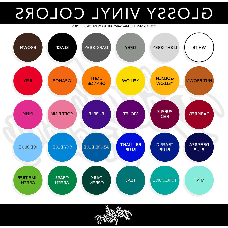 "Philadelphia Vinyl Sticker - 4"" and Larger Color Options!"
