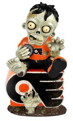 Philadelphia Flyers Zombie on Logo Figurine  NHL Figure Gard