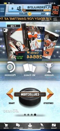 Topps Skate Digital FLYERS Collection Lots Of Awards, Limite