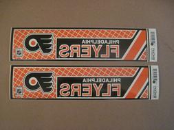 Lot Of  Vintage Philadelphia Flyers 1990's Wincraft Bumper S