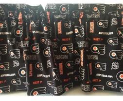 NEW NHL Philadelphia Flyers Ice  Hockey Sports Valance Curta