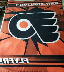 New Northwest Philadelphia Flyers NHL Soft Fleece Throw Blan