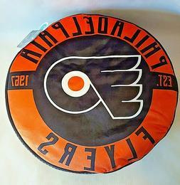 """NEW Philadelphia Flyers Travel Cloud Pillow NHL Hockey 15"""" D"""