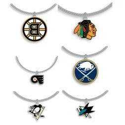 NHL - Necklace With Pendant - Choose Your Team - Aminco