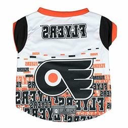 Littlearth NHL Pet Performance T-Shirt, Philadelphia Flyers,