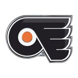 NHL Philadelphia Flyers Color Auto Emblem, One Size, One Col