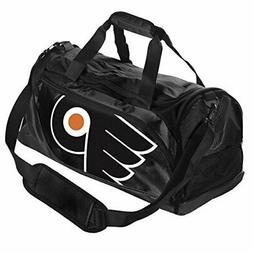 NHL Philadelphia Flyers Locker Room Collection Duffle Bag, S