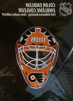 NHL Philadelphia Flyers Mask Emblem, Orange