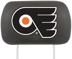 FANMATS NHL Philadelphia Flyers Polyester Head Rest Cover