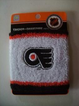 NHL Wristband Philadelphia Flyers Athletic Sport Team Colors