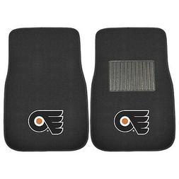 Philadelphia Flyers 2 Piece Embroidered Car Auto Floor Mats
