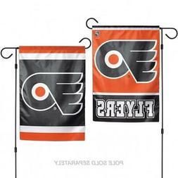 """Philadelphia Flyers 2 Sided Garden Flag 12.5"""" x 18""""  NHL Fan"""
