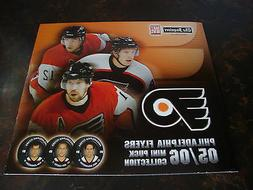 Philadelphia Flyers---2005-06 Mini Puck Collection--Fold-Out