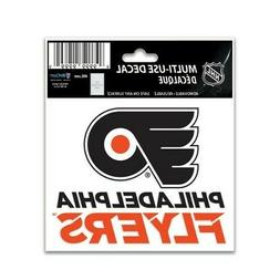 """PHILADELPHIA FLYERS 3""""X4"""" MULTI-USE DECAL PERFECT FOR CAR WI"""