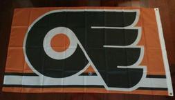Philadelphia Flyers 3x5 Flag. US seller. Free shipping withi