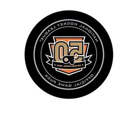 philadelphia flyers 50th anniversary nhl ice hockey