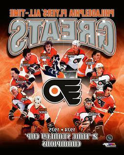 Philadelphia Flyers ALL-TIME GREATS Premium Poster Print CLA