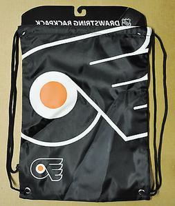 Philadelphia Flyers Back Pack/Sack Drawstring Bag/Tote NEW N