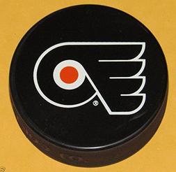 Philadelphia Flyers Basic Logo Souvenir Hockey Puck By Sher-