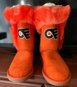 Philadelphia Flyers Boots - Women's Size 9 ** BRAND NEW ** *