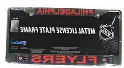 Philadelphia Flyers Carbon Fiber Laser Frame Chrome Metal Li
