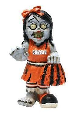 Philadelphia Flyers Cheerleader Zombie Figurine  Resin Figur
