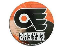 """Philadelphia Flyers Decal 4"""" Round Vinyl Auto Home Window Bu"""