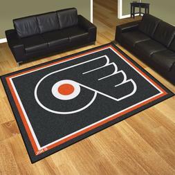 Philadelphia Flyers 8' X 10' Decorative Ultra Plush Carpet A