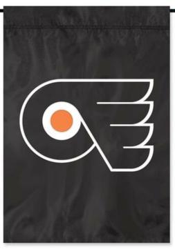 Philadelphia Flyers Deluxe GARDEN Window Flag Banner Appliqu