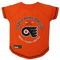 Pets First Philadelphia Flyers Dog T-Shirt, Small